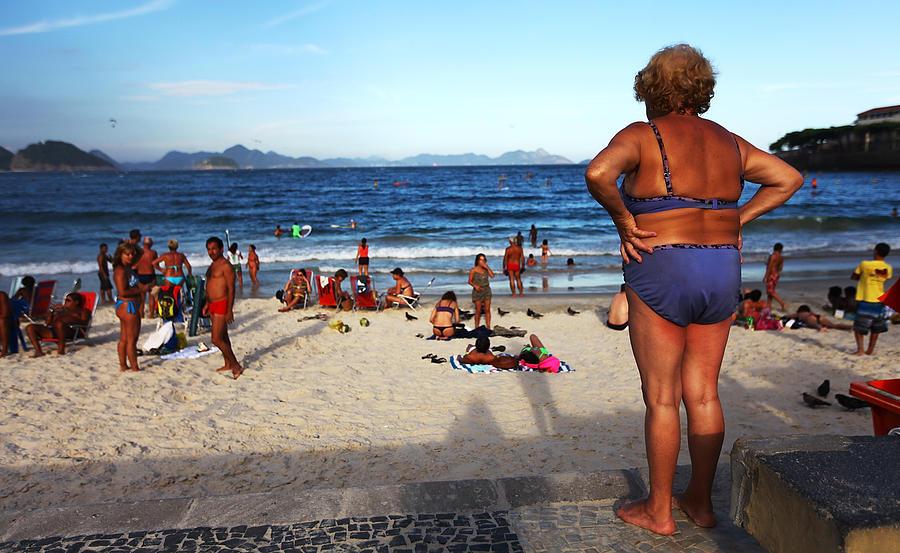 Corporate Business Photograph - Rios Beach Economy Is R$2 Billion by Mario Tama