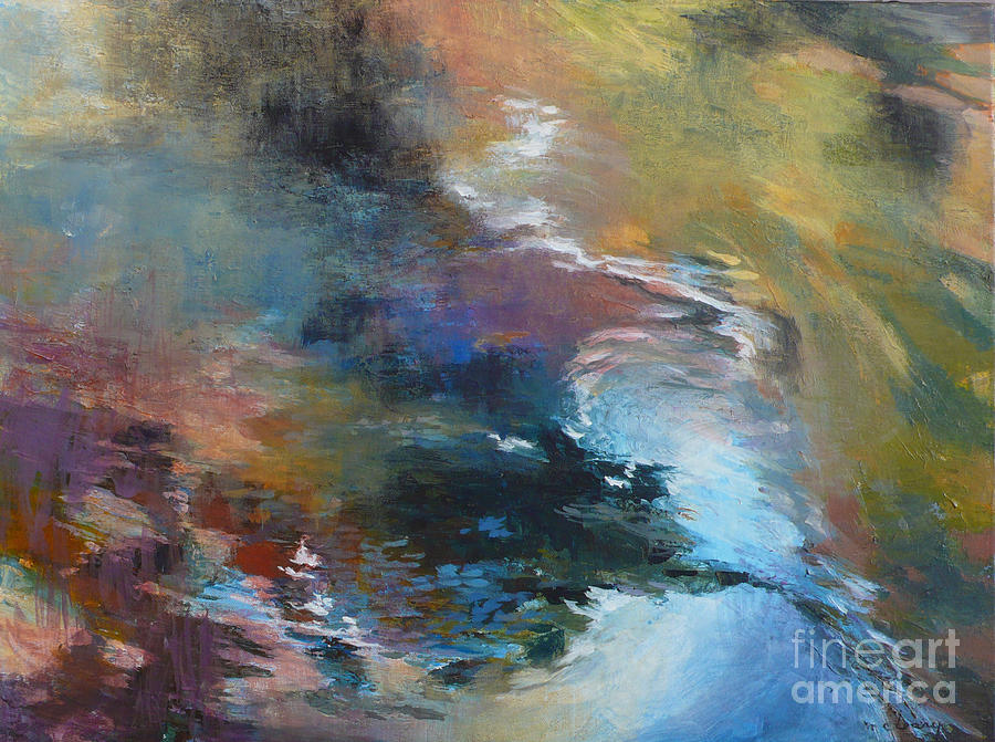 Water Painting - Ripples No. 2 by Melody Cleary