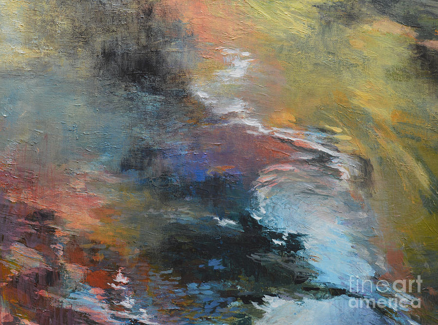 Abstract Painting - Ripples No. 2a by Melody Cleary