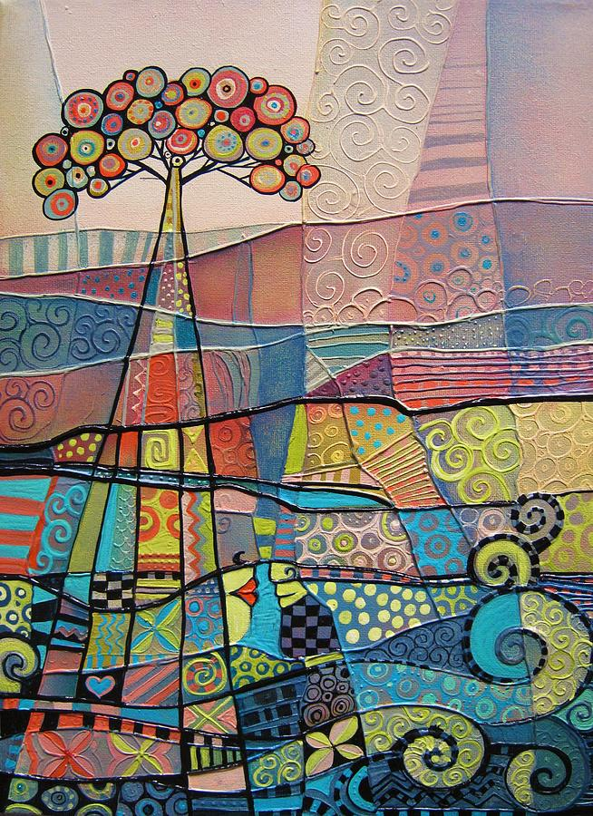Couple Painting - Ripples by Tanya McCabe