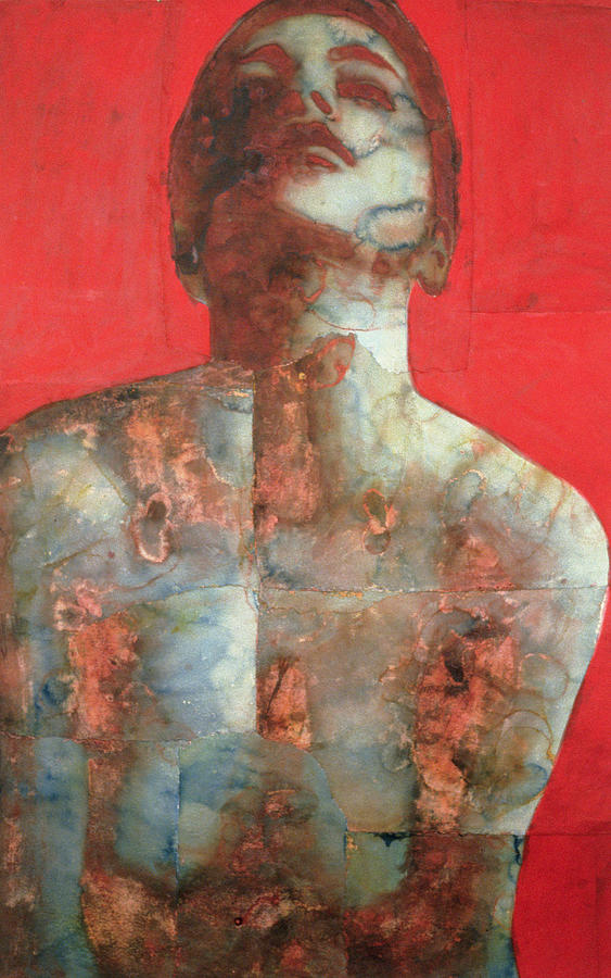 Nude Painting - Rise 2 by Graham Dean