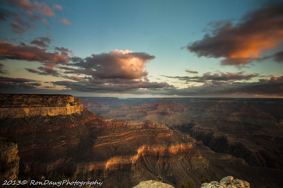 Grand Canyon Photograph - Rise Canyon by Ron Pelton