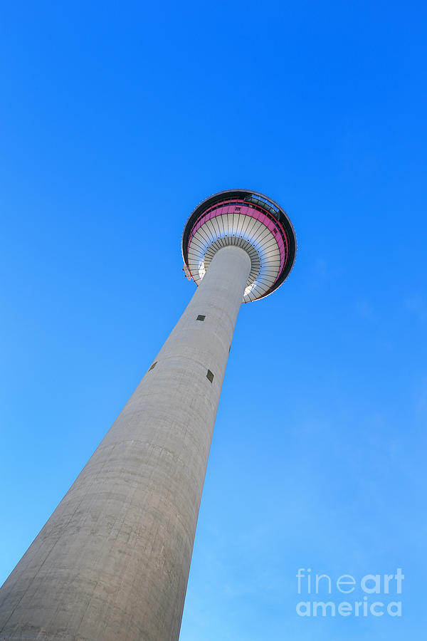 Calgary Photograph - Rising High by Evelina Kremsdorf