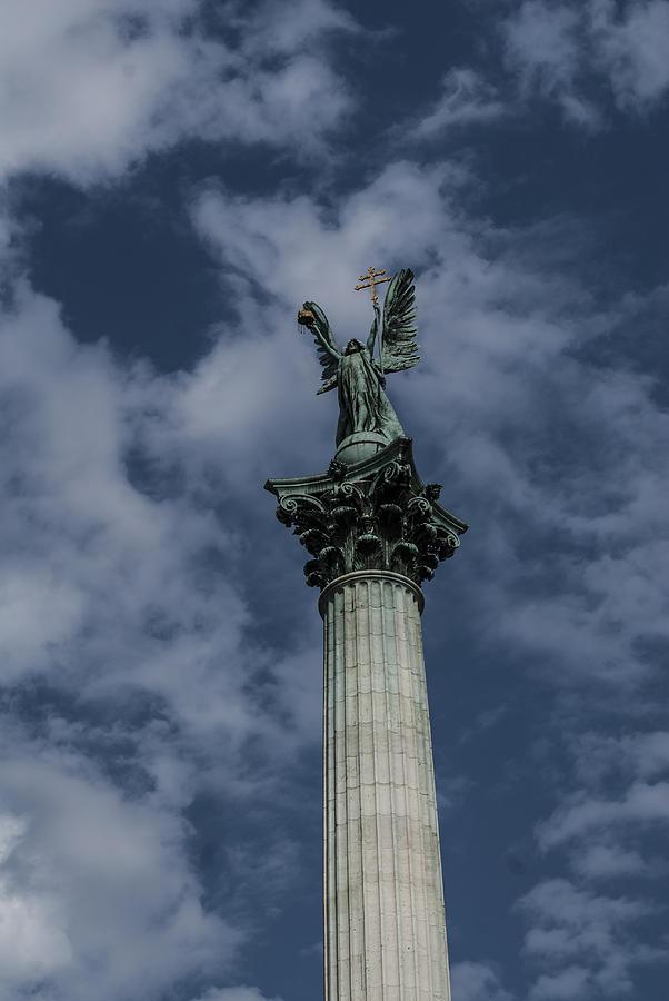 Budapest Hungary Photograph - Rising by Sabina Cosic