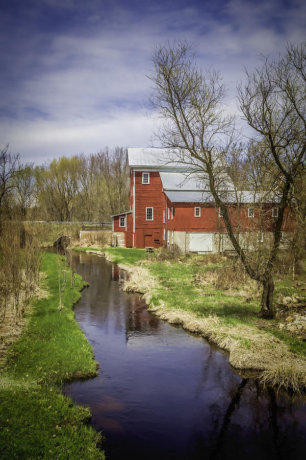 Flour Mill Photograph - Rising Star Mill by Thomas Young