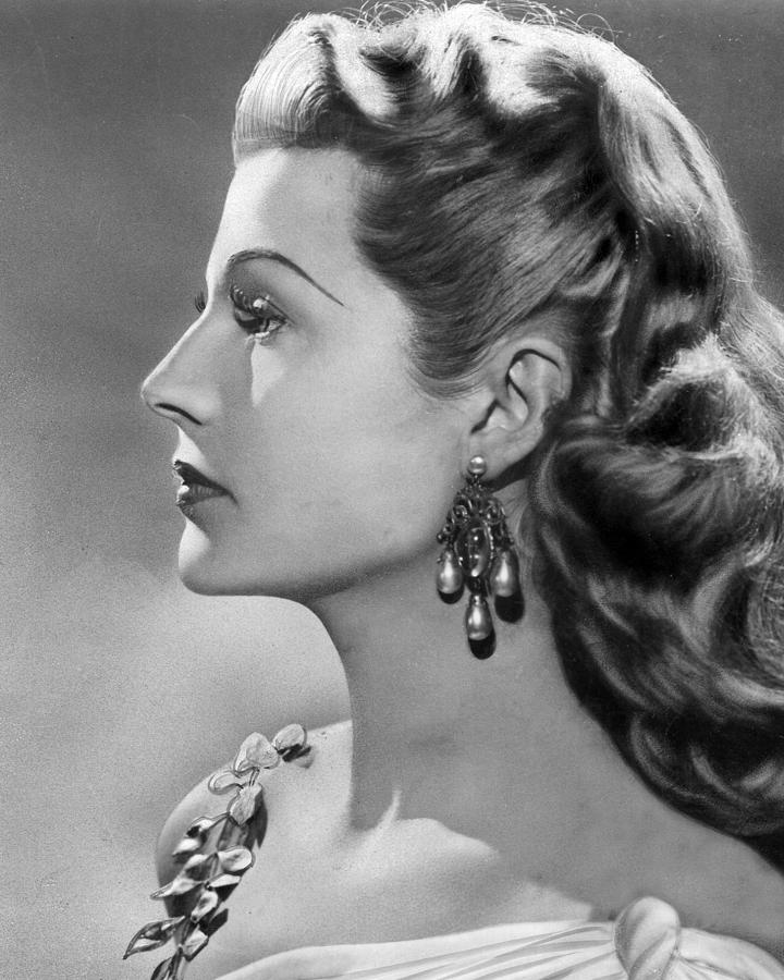 rita hayworth profile photograph by retro images archive