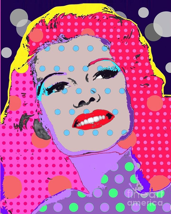 Rita Hayworth Digital Art - Rita Hayworth by Ricky Sencion