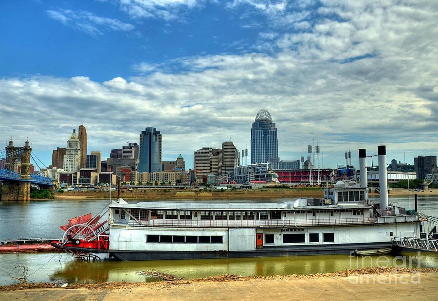 River City Photograph - River City by Mel Steinhauer