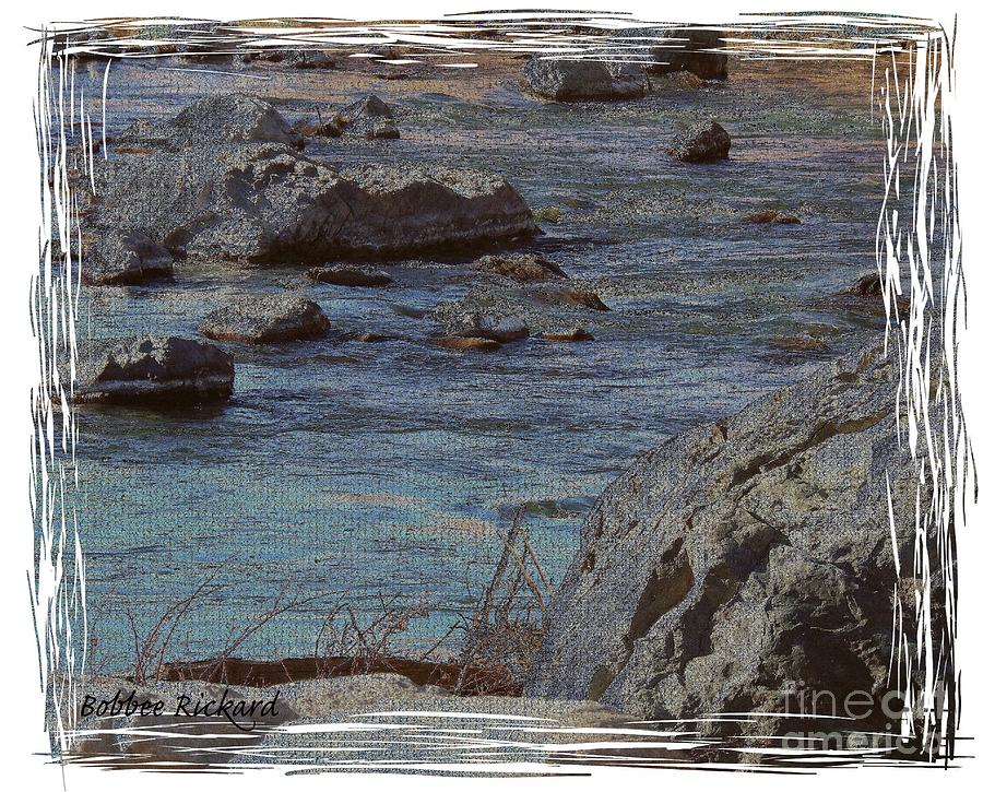 Truckee River Photograph - River Flows by Bobbee Rickard
