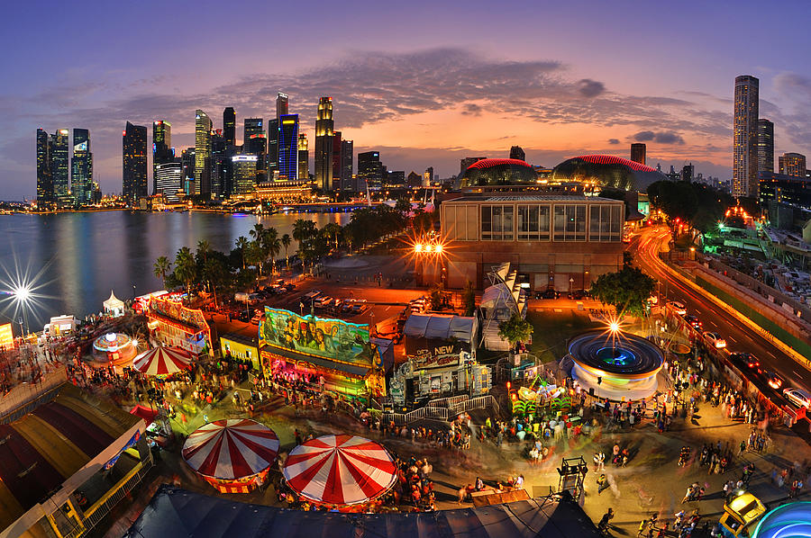 Chinese Culture Photograph - River Hong Bao 2015 Singapore by Fiftymm99