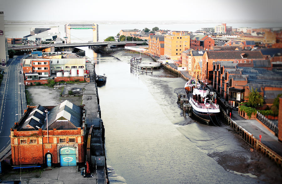 Mouth Photograph - River Hull by Anthony Bean