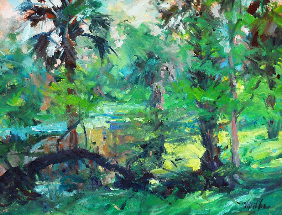 Tequesta Painting - River Morning by Marilyn Muller