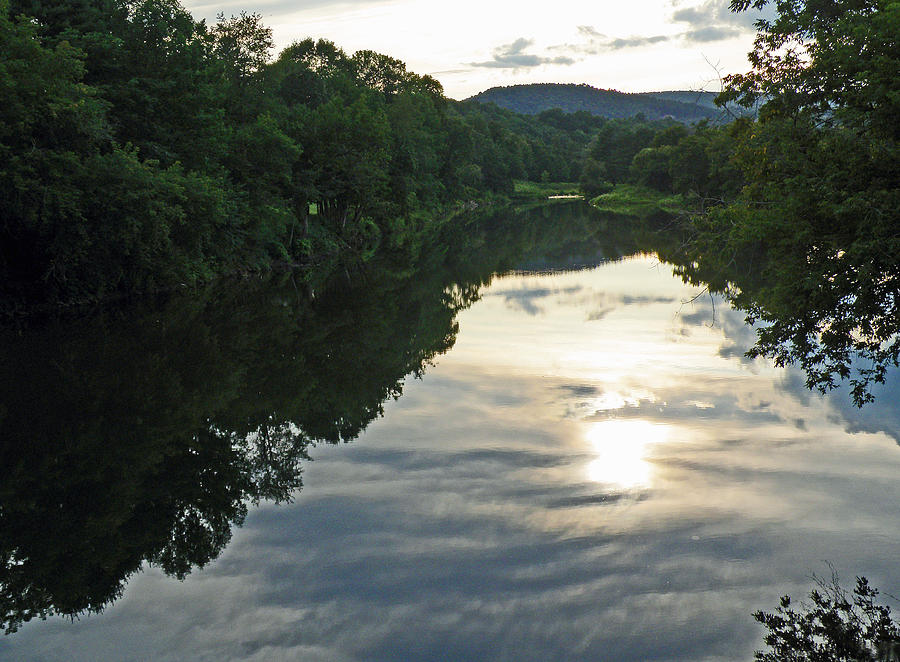 River Photograph - River Of Clouds by Jean Hall