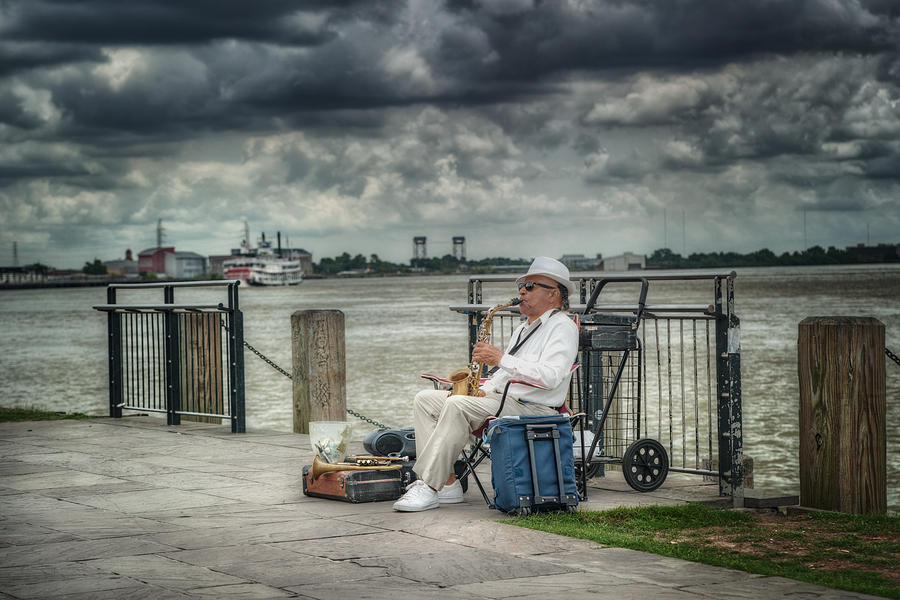 New Orleans Photograph - River Serenade by Brenda Bryant