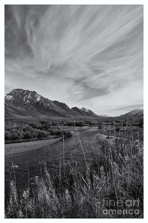 Dempster Highway Photograph - River Serenity by Priska Wettstein
