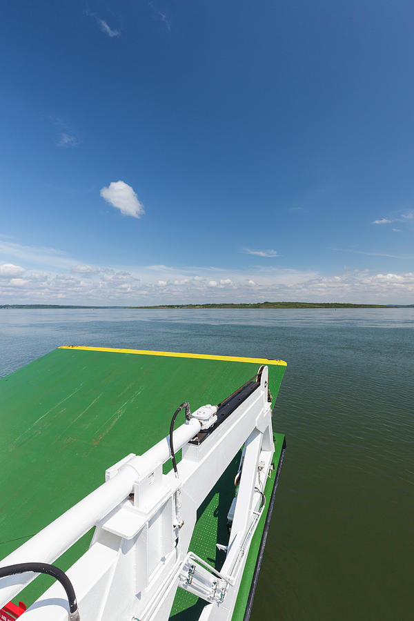 Vertical Photograph - River Shannon Ferry, Tarbert-killimer by Panoramic Images