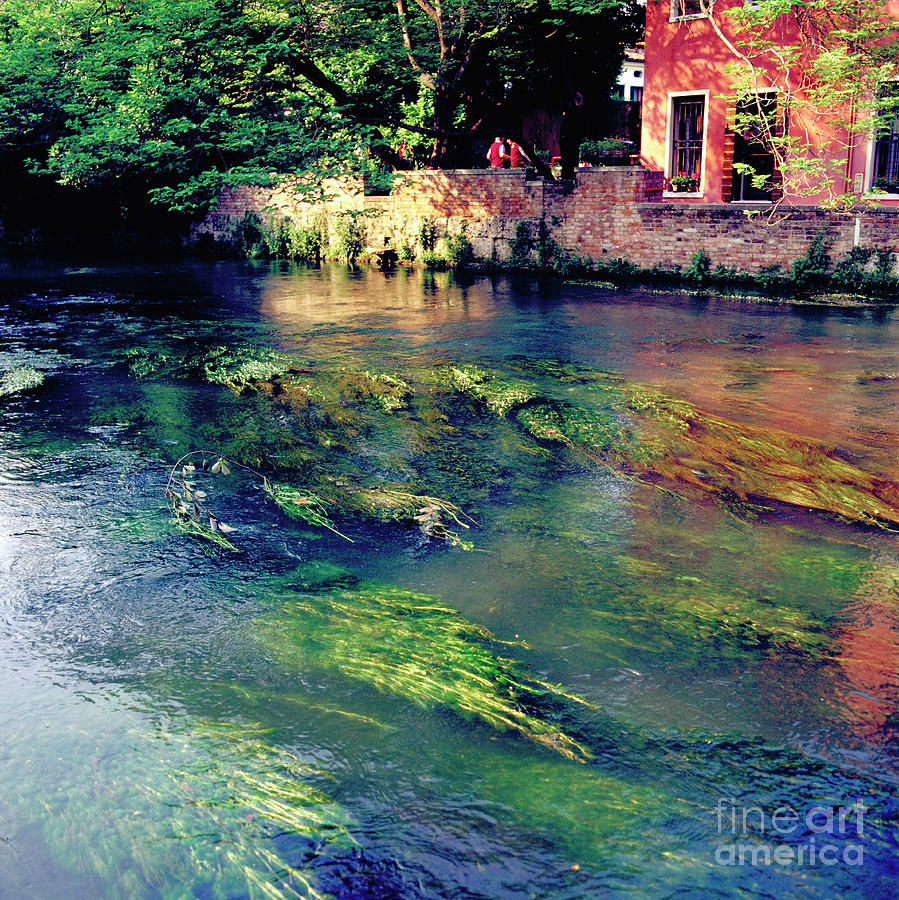 Heiko Photograph - River Sile In Treviso Italy by Heiko Koehrer-Wagner