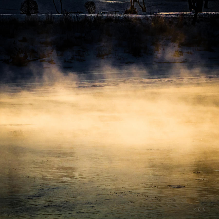 Nature Photograph - River Smoke by Bob Orsillo