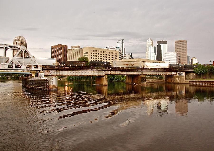 Susan Photograph - River Structures13 by Susan Crossman Buscho