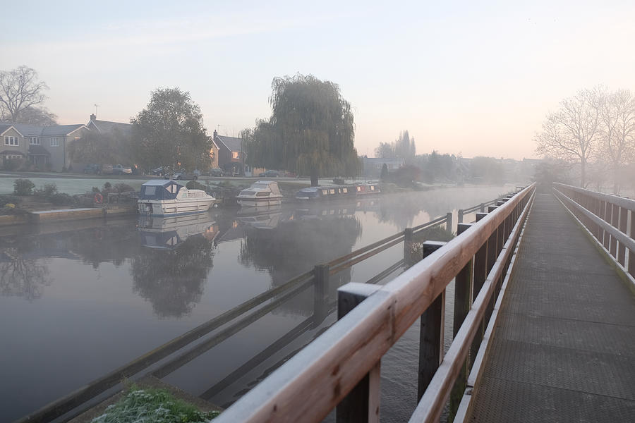 Tranquil Photograph - River Sunrise by Mark Severn