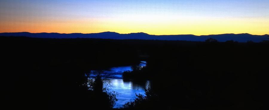 River Sunset 19684 Photograph