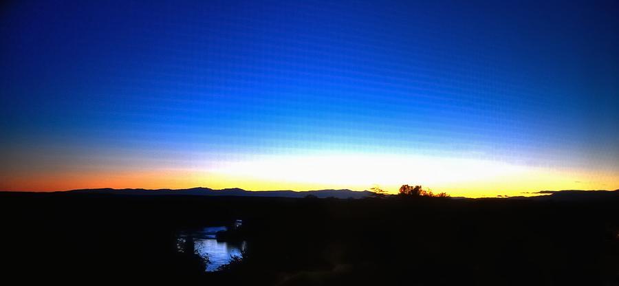 River Sunset 19690 Photograph