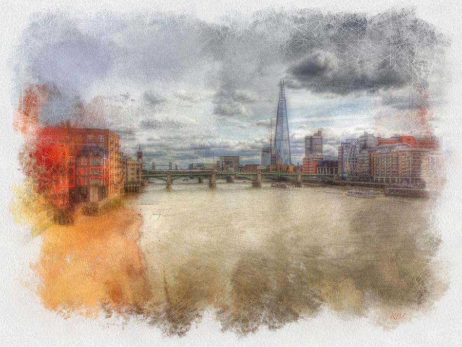 River Thames Digital Art - River Thames by Rick Lloyd