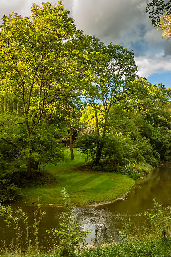 Bolton Photograph - River Tranquility by Steve Harrington
