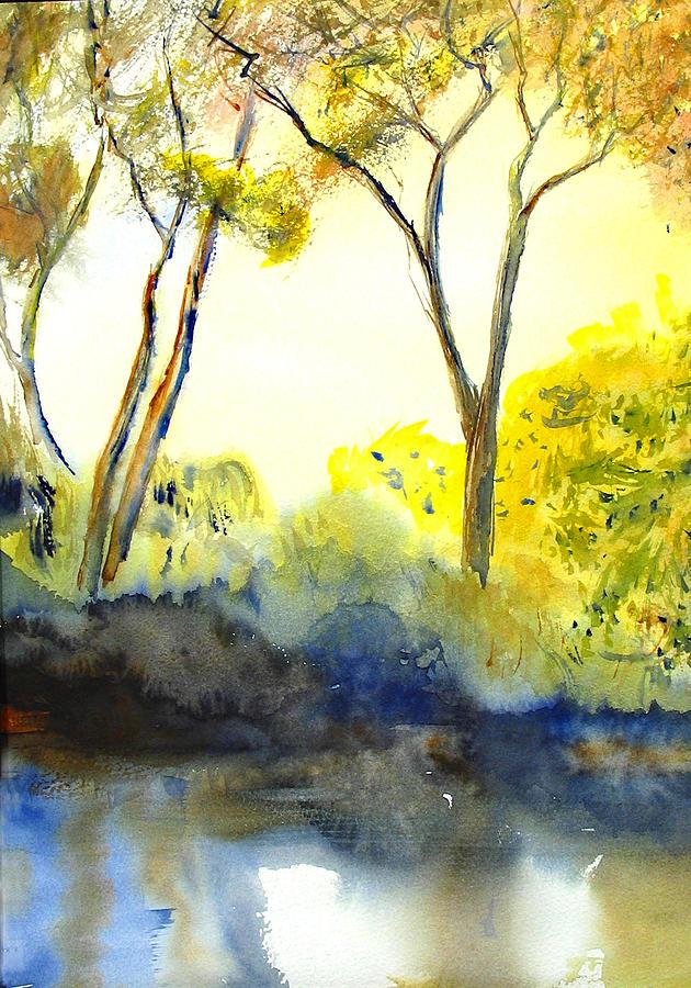 River Trees II by Peter Senesac