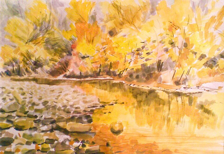 River Pastel by Vaidos Mihai