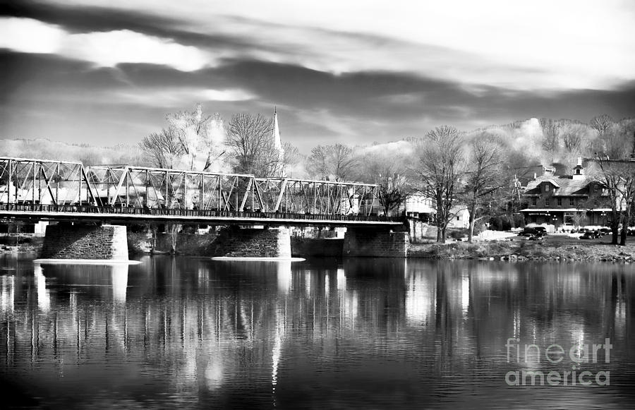 River View In New Hope Photograph - River View In New Hope by John Rizzuto