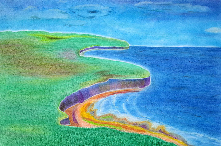 Oil Pastels Paintings For Sale