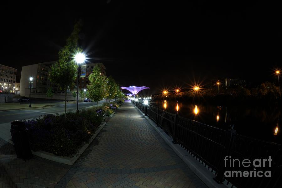 Fox River Photograph - River Walk On The Fox by David Bearden