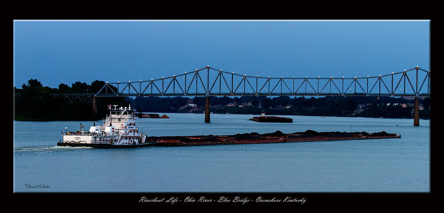 David Lester Photograph - Riverboat Life by David Lester