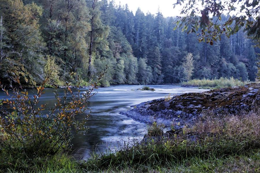 River Photograph - Riverflow At Dusk by Belinda Greb