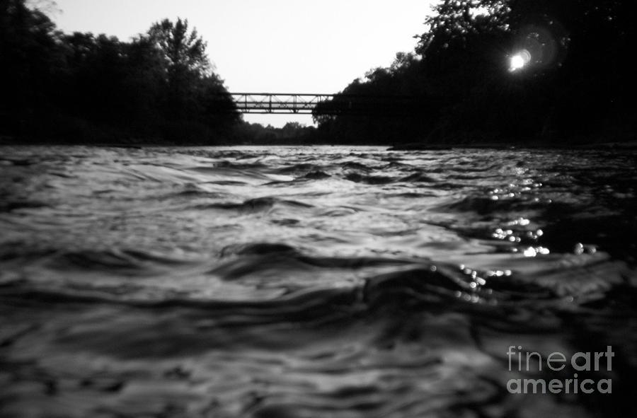 River Photograph - Rivers Edge by Michael Krek