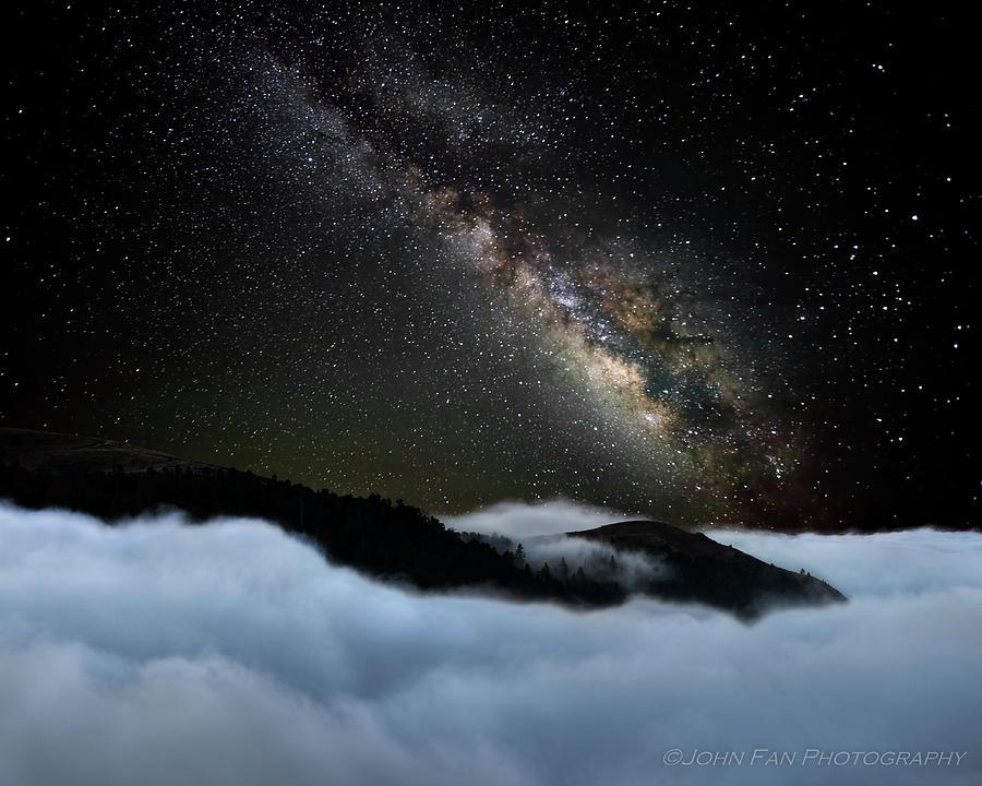 Sky Photograph - Rivers In The Sky by John Fan