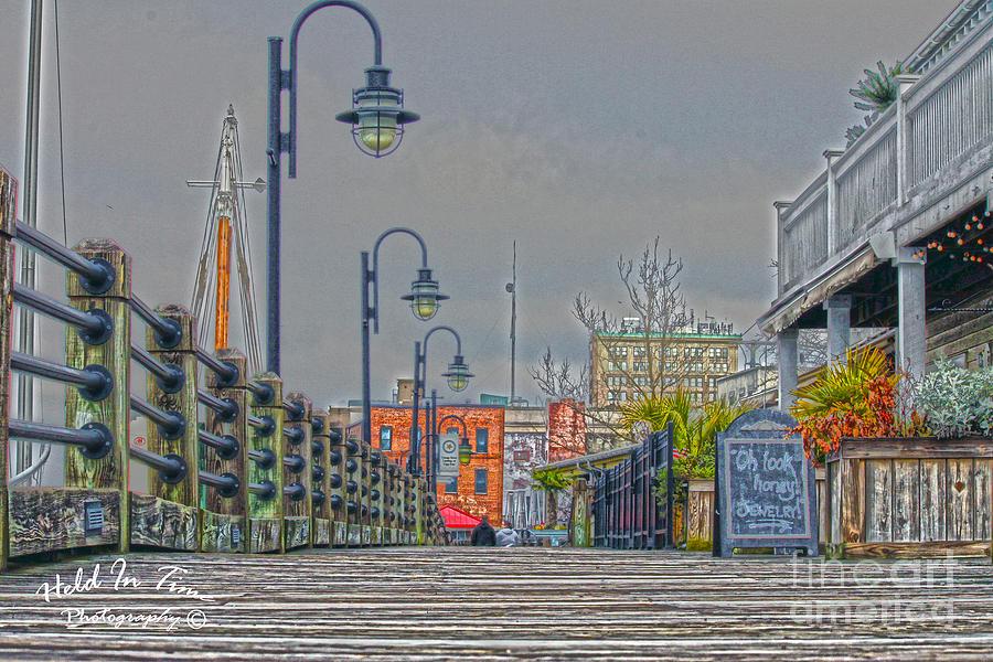 Wilmington Photograph - Riverwalk by Marie Kirschner