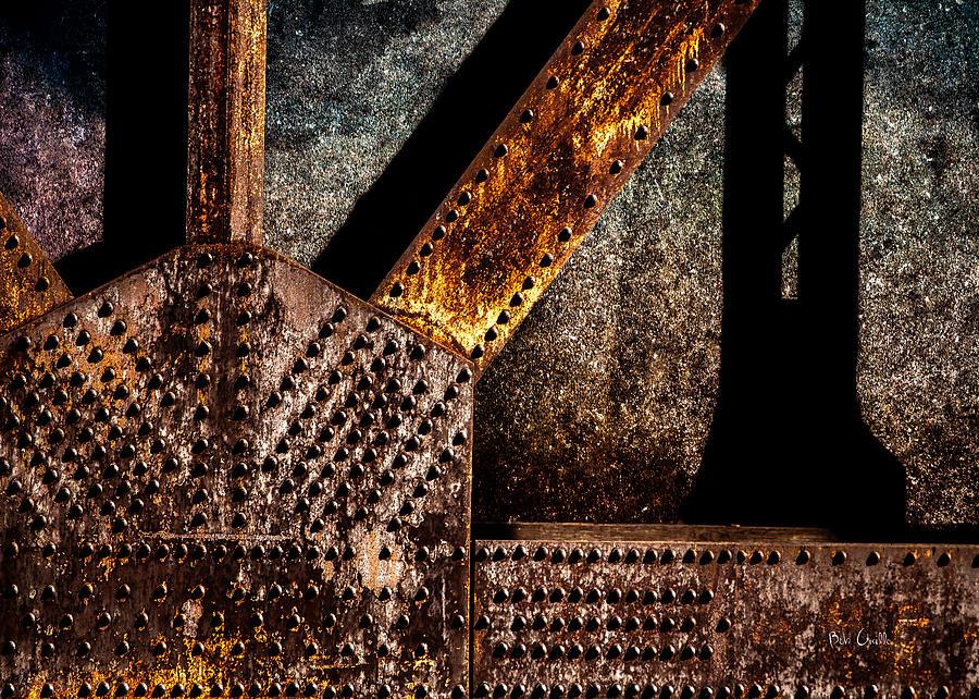 Rivets Photograph - Rivets  by Bob Orsillo