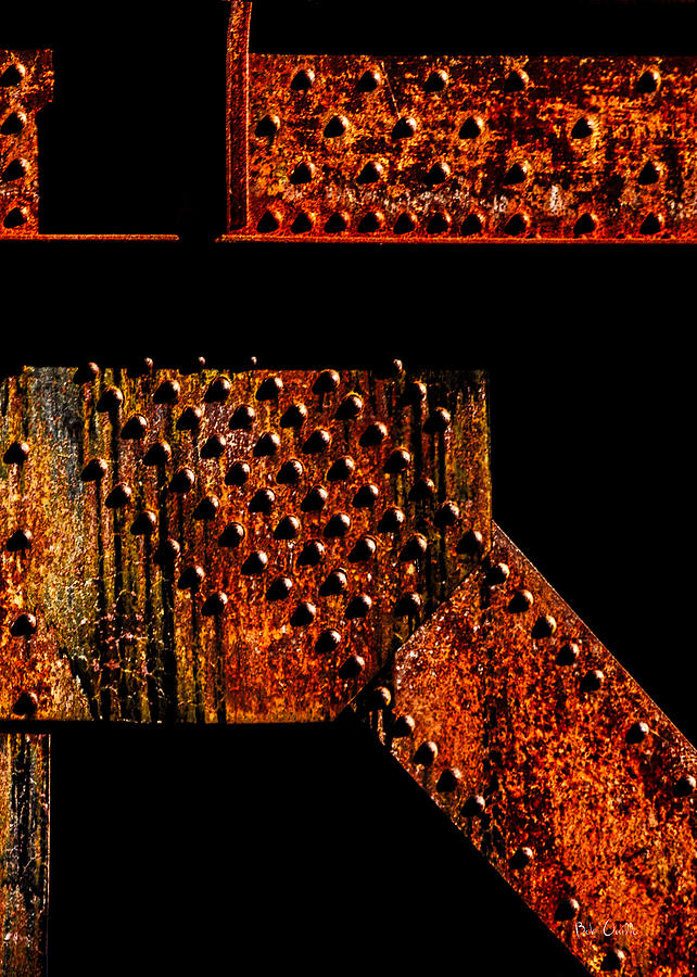 Rivets Photograph - Rivets Number Two by Bob Orsillo
