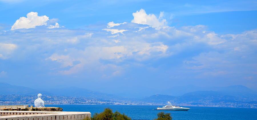 Riviera Photograph - Riviera Blues by Corinne Rhode