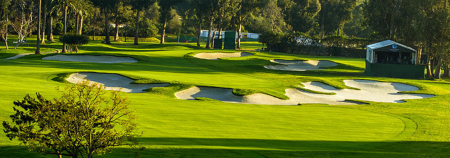 Riviera Country Club Golf Course Hole 10 Photo 1 Panorama ...