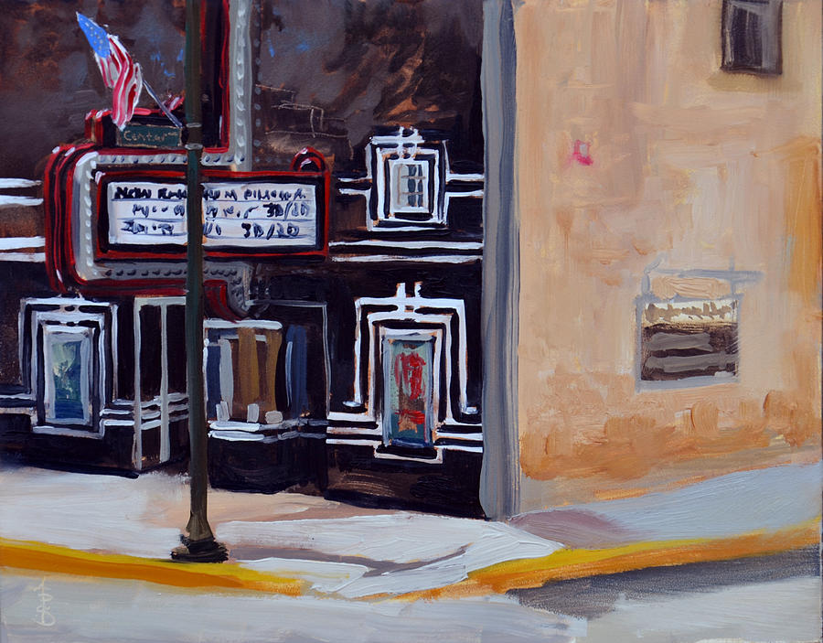 Theater Painting - Rivoli Theater by Anthony Sell