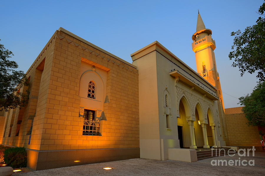 Mosque Photograph - Riyadh Mosque by George Paris