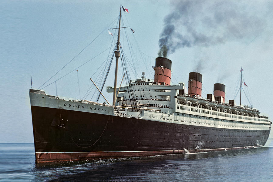 RMS Queen Mary 1936 Minecraft Map