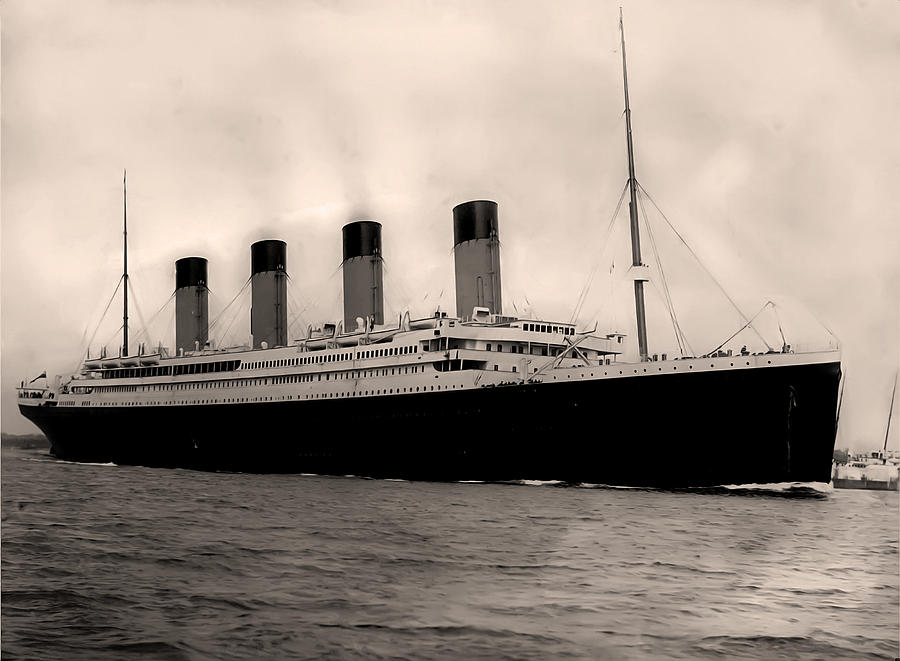 Rms Titanic Photograph By Bill Cannon