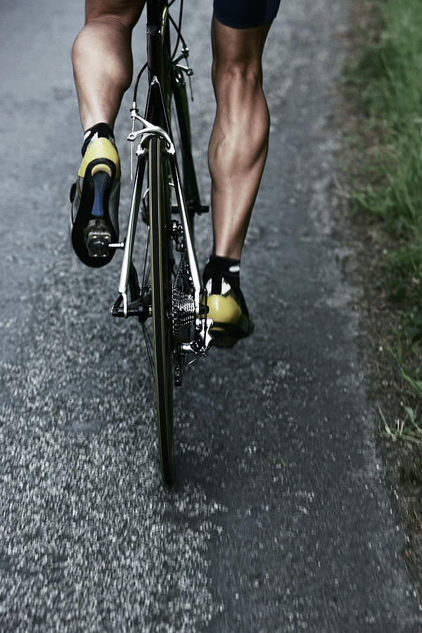 Road Bike Rider Photograph by Gibsonpictures