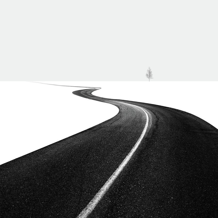 Road Photograph - Road I by Hossein Zare