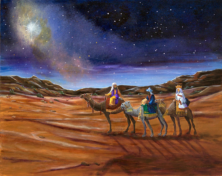 Road To Bethlehem Painting By Dorothy Riley