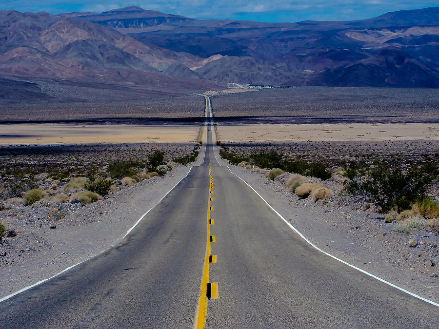 Road To Death Valley Photograph